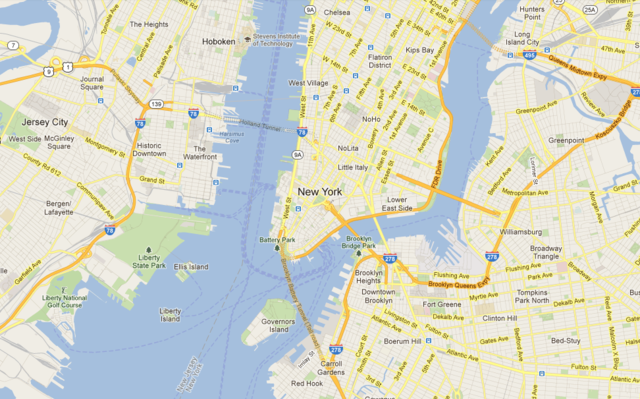 Milica Savic Art Contact MILICA SAVIC - New york city map google